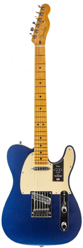 Fender American Ultra Telecaster Cobra Blue Maple